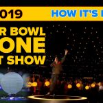 2019 Super Bowl half time show. Intel Shooting Start drones and how they do the Drone Light shows